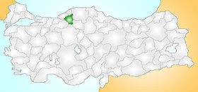 Karabük Turkey Provinces locator.jpg