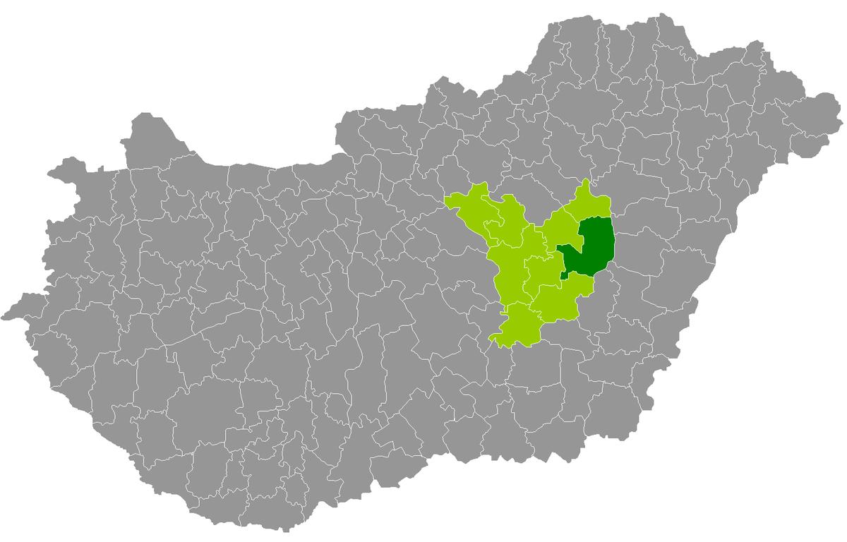 karcag térkép Karcagi járás – Wikipédia karcag térkép