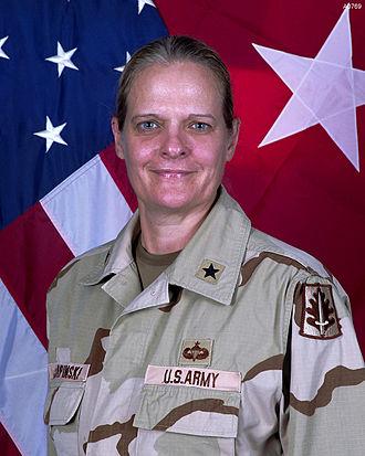 Janis Karpinski - US Army Photo