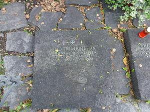 Friedrich Christian, Margrave of Meissen - Grave stone for Friedrich Christian, Margrave of Meißen, Duke of Saxony