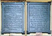 Kartause Freiburg Tafeln