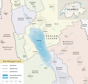 Karte Baldeggersee 2015