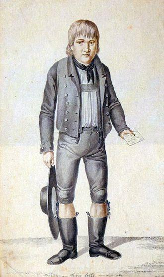 Feral child - Kaspar Hauser.