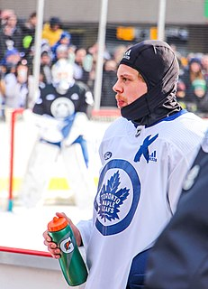 Kasperi Kapanen Finnish professional ice hockey forward
