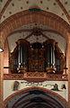 Kath. Liebfrauenkirche Oberwesel, Orgelempore westl. Langhaus.jpg