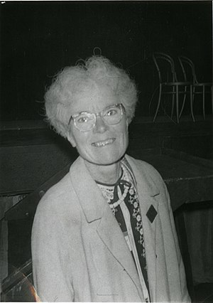 Kathleen Lonsdale - Lonsdale in 1968