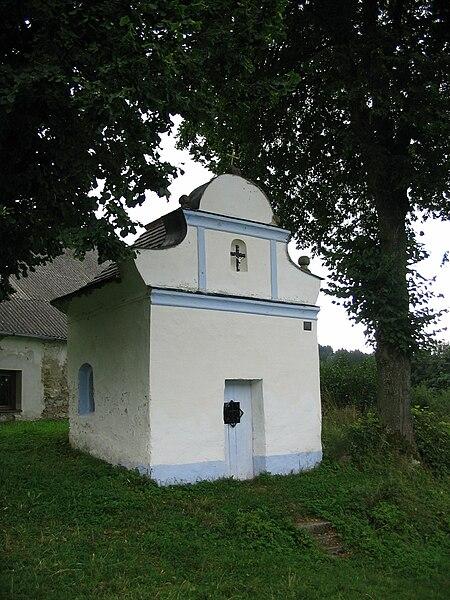 Kašperské Hory, kaple Dvanácti apoštolů