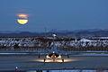 Kawasaki T-4 night operations at Chitose Air Base.jpg