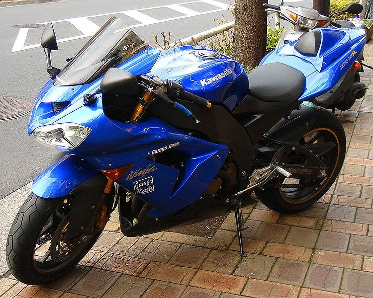 Yamaha Blue Paint Color