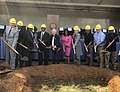 Kay Ivey, Terri Sewell and others at a ground breaking for a Loves Travel Stop.jpg