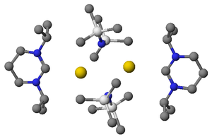 Stable carbenes readily coordinate to metals; in this case a diaminocarbene co-ordinates to KHMDS to form a complex.