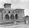 Kecskemét 1955, Széktó-fürdő. Fortepan 1853.jpg