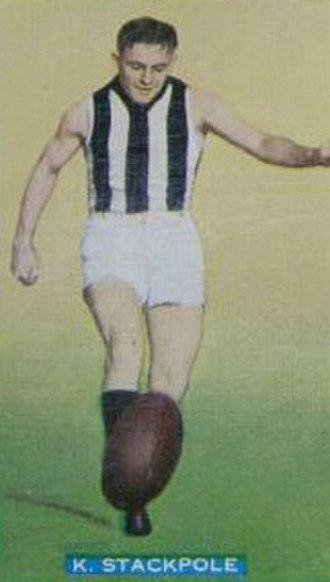 1935 VFL season - Premiership player Keith Stackpole