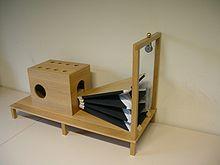 Rekonstruktion der Sprechmaschine an der Universität des Saarlandes Saarbrücken (Quelle: Wikimedia)