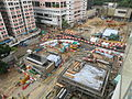 Kennedy Town Station under construction in April 2014.JPG