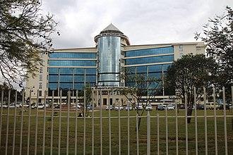 Kenyatta University - Image: Kenyatta Univ Admin
