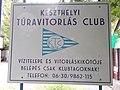 Keszthely Sailboats Club (est.1978), sign, Keszthely, 2016 Hungary.jpg