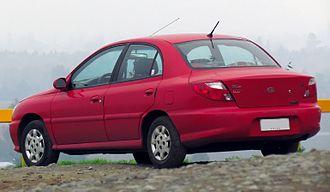 Kia Rio - Sedan (pre-facelift)