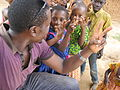 Kids posing for a photo, Tanzania.JPG