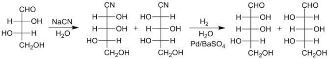 An improved version of the Kiliani–Fischer synthesis