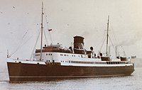 King Orry pictured after she commenced service with the Isle of Man Steam Packet Company..JPG