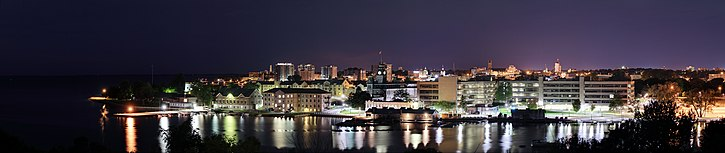 Kingston la nuit