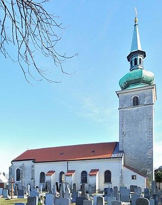 Rohrau, Austria - Church of St. Vitus, Rohrau