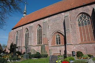 Hinte - Protestant church