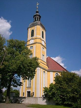 Oßling - Image: Kirche Oßling 1