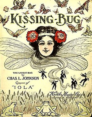 1909 in music - Image: Kissing Bug 1909