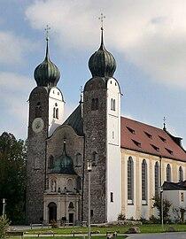 Klosterkirche St. Margarethen, Kloster Baumburg.JPG