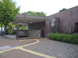 Ōkurayama Station (Hyōgo) - Station entrance