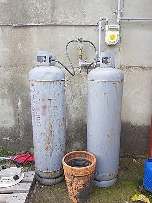 Korea Liquefied petroleum gas cylinders.jpg