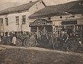 Kovačko-potkivačka radnja Stojanovića i Kocića i trgovina Savića i Stojanovića, 1934. godina.jpg