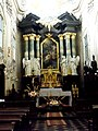 Kraków, wnętrze kościoła na Skałce.JPG