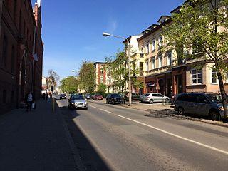 Zygmunt Krasiński Street in Bydgoszcz Street in Bydgoszcz