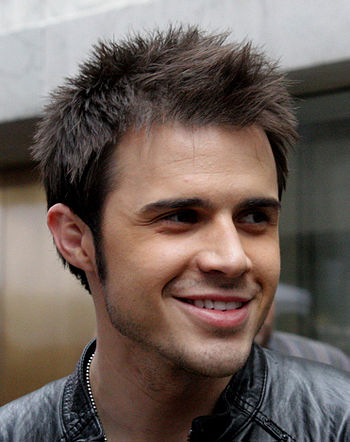 Kris Allen in New York City, before his appear...
