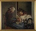 Kristian Zahrtmann - Bedstemoder med sit barnebarn - KMS2031 - Statens Museum for Kunst.jpg