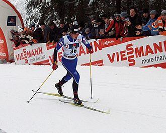 Kristina Šmigun-Vähi - Kristina Šmigun in Otepää in 2006