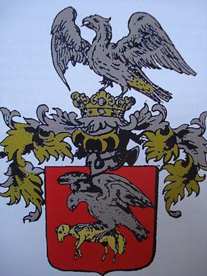 Petar Kružić - Kružić family coat of arms