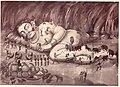 Kumbhakarna wake up from sleep.jpg