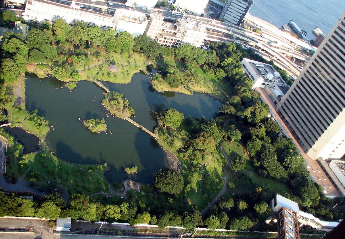 Kyu Shiba Rikyu Garden Wikipedia