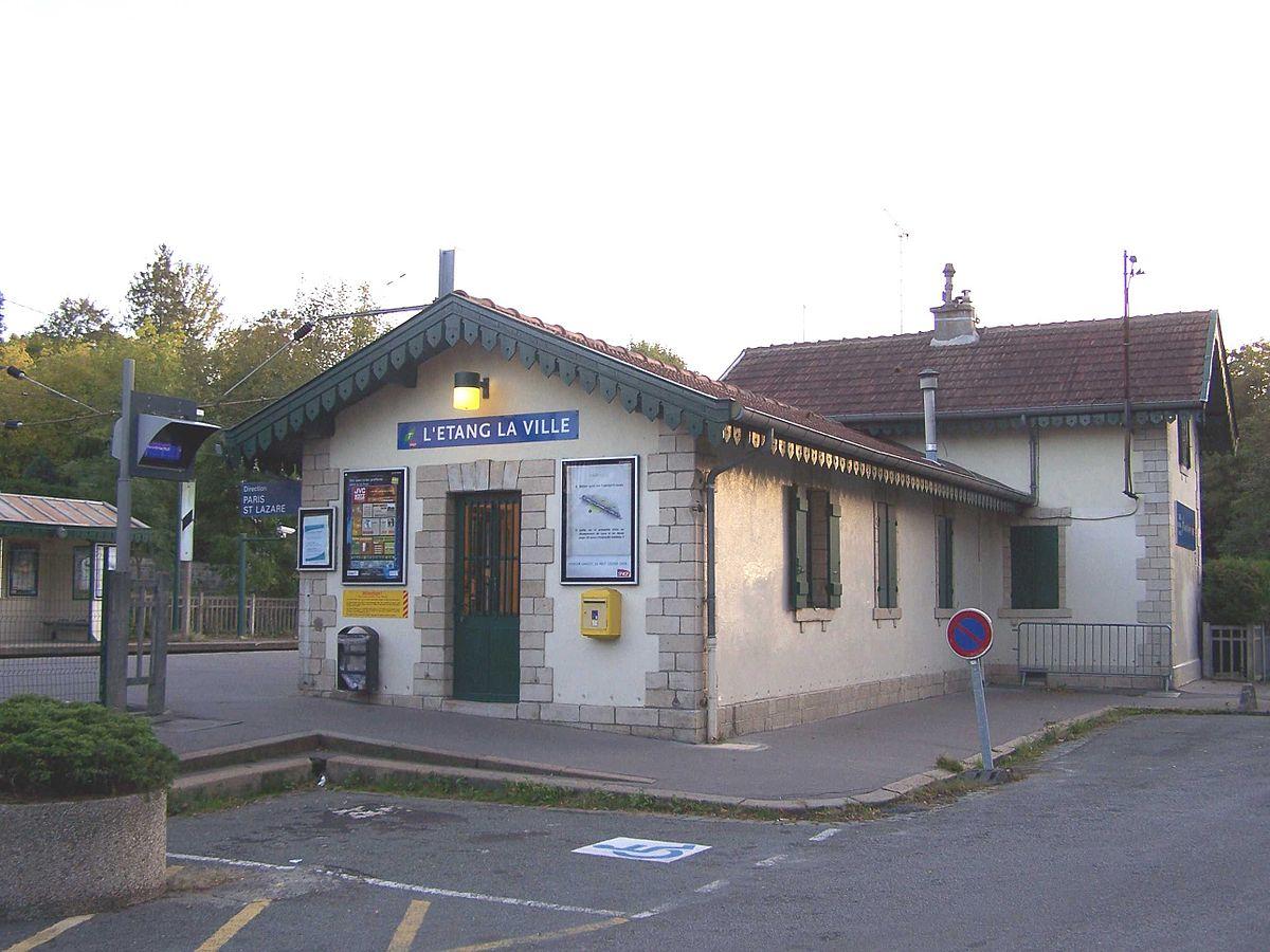 Gare de l 39 tang la ville wikip dia for Garage de la gare bretigny