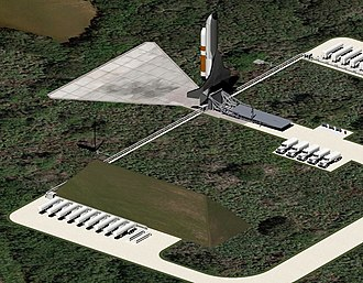 A rendering of Boeing's XS-1 Phantom Express launch vehicle on LC-48 LC-48 EIS Image--019.jpg