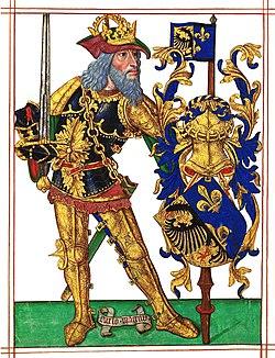 LDAM (f. 004v) Carlos Magno, Imperador