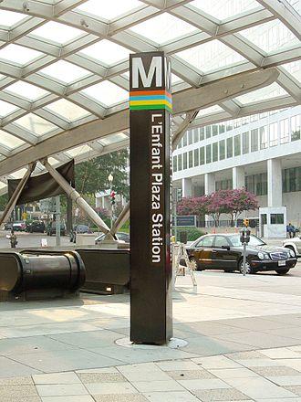 L'Enfant Plaza station - Image: L Enfant Plaza Station