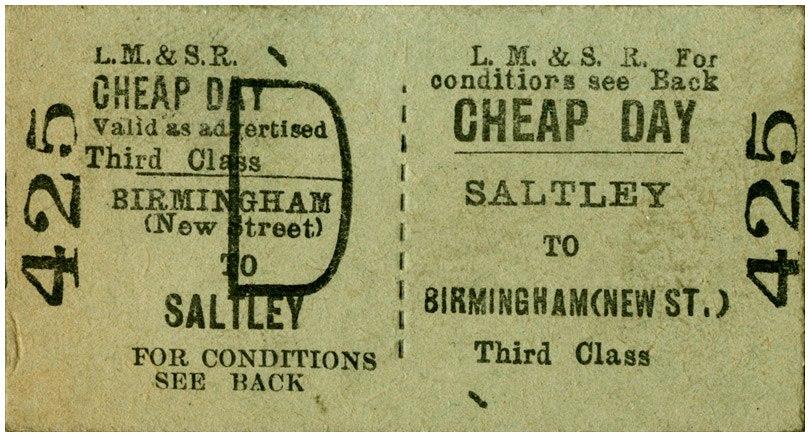 Edmondson railway ticket - Howling Pixel