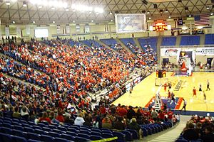 Vines Center - Image: LU Flames Basketball