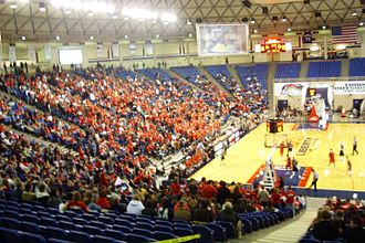 Liberty Flames and Lady Flames - Liberty Flames men's basketball in 2008