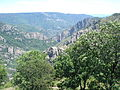 La Garde-Guérin, vue sur les gorges du Chassezac.JPG